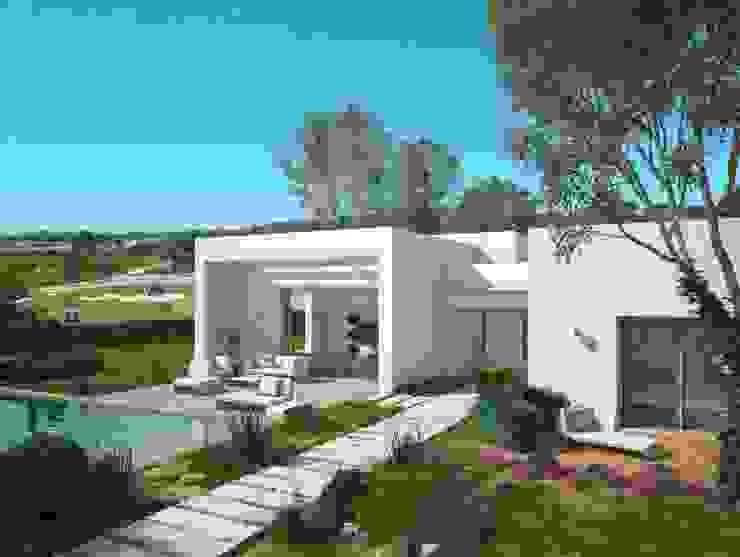 Vivienda Unifamiliar en Colinas Golf, promovida por Marjal Casas de estilo clásico de GESTIÓN TÉCNICA DE PROYECTOS PROYECTOS Y OBRAS, SL. Clásico