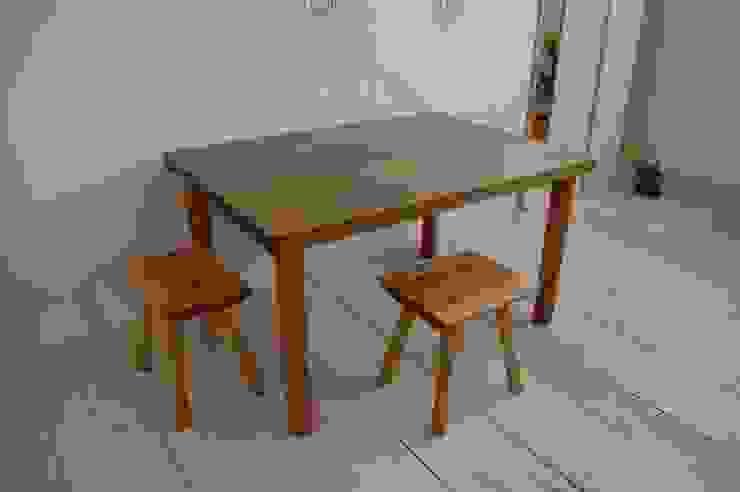 ダイニングテーブル : hatch   が手掛けた折衷的なです。,オリジナル 木 木目調