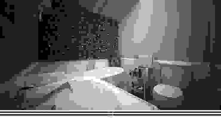 Classic style bathroom by WZ STUDIO Classic Wood Wood effect