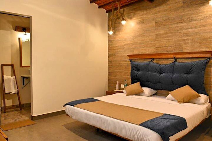 Rishikesh Modern style bedroom by Studio Ezube Modern