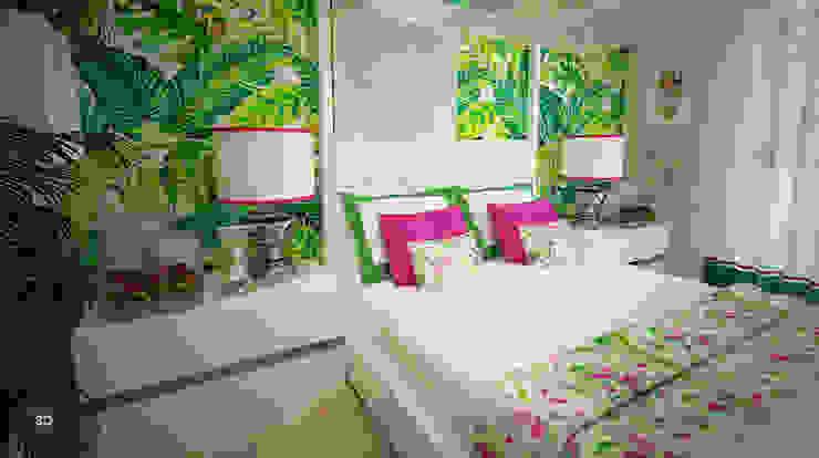 臥室 by GRAÇA Decoração de Interiores, 現代風