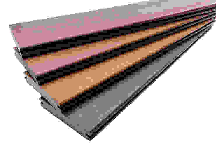 Gamme lame de Terrasse Tropical 2016 Balcon, Veranda & Terrasse originaux par TimberTech Éclectique Bois composite
