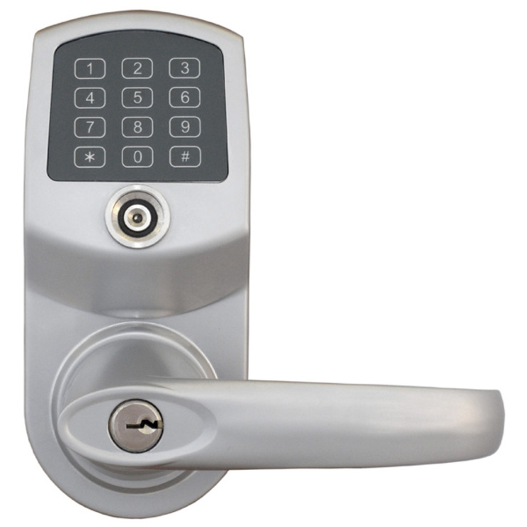 Remotelock 6i - WiFi enabled, keypad lock, integrates with AIRBNB & Alfred Smart Home de Smarterhome (UK) Ltd Moderno Metal