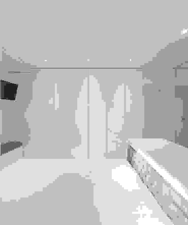 Apartamento Lisboa Quartos minimalistas por Ana Maria Timóteo _ arquitecta Minimalista