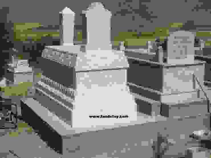 işlemeli mezar Taş Detay