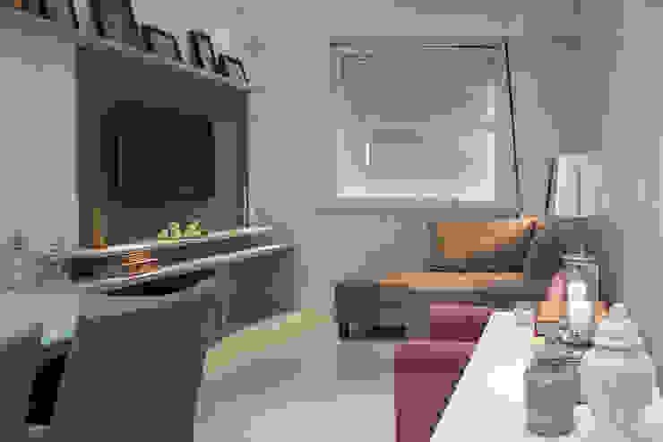 Ana Adriano Design de Interiores Modern Living Room Wood