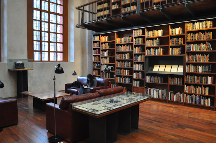 José Vigil Arquitectos ห้องทำงาน/อ่านหนังสือ
