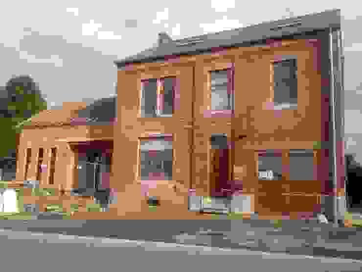 Habitation et cabinet médical à Sombreffe Bureau d'Architectes Desmedt Purnelle