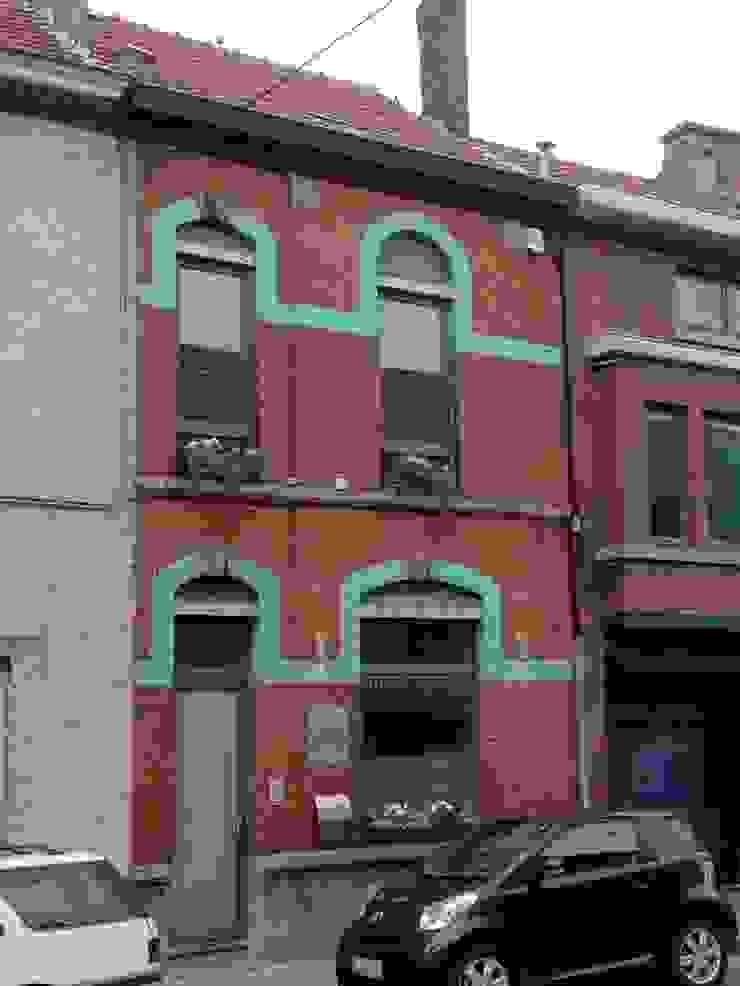 Façade avant Maisons classiques par Bureau d'Architectes Desmedt Purnelle Classique