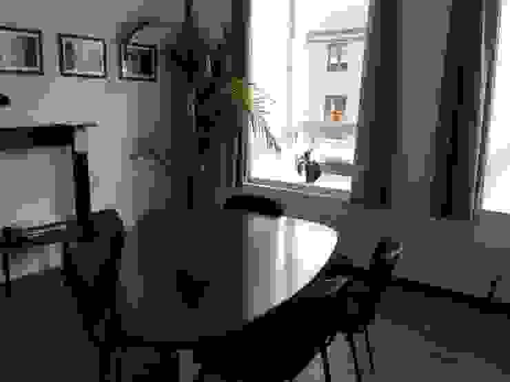 Bureau d'Architectes Desmedt Purnelle Ruang Makan Klasik