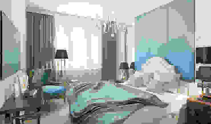 Северный остров Спальня в эклектичном стиле от Be In Art Эклектичный Медь / Бронза / Латунь