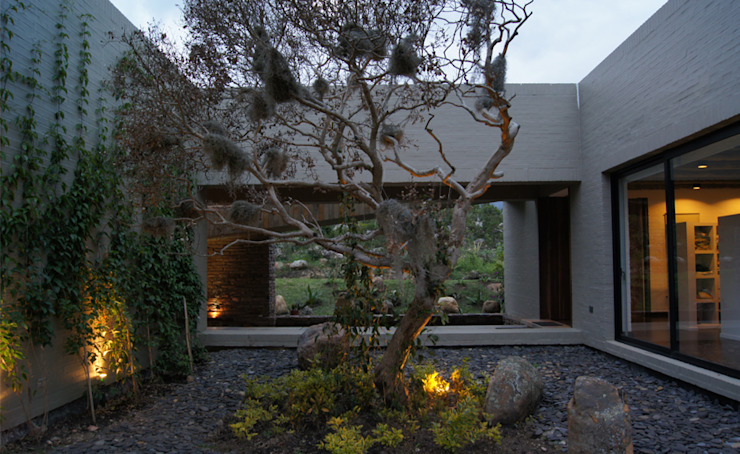 Modern style gardens by AMR ARQUITECTOS Modern