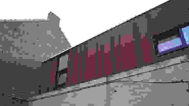 Habitation DNH Maisons modernes par VORTEX atelier d'architecture Moderne
