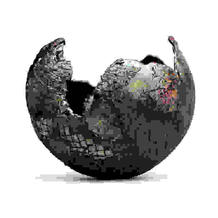 Nathalie Landot 藝術品其他藝術物件 陶器 Black