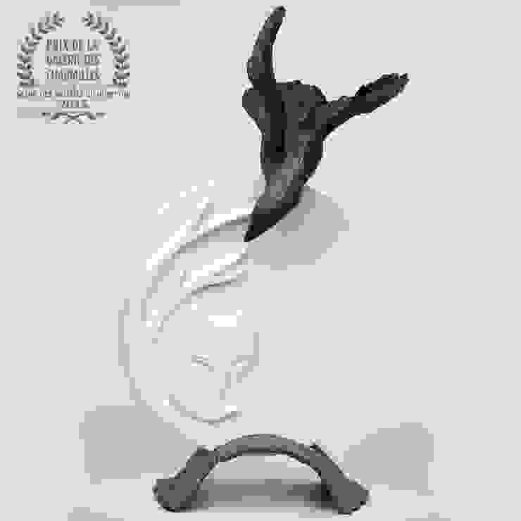 Nathalie Landot ArtworkSculptures Ceramic White