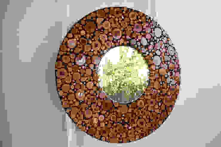 ESPEJO CIRCULAR Oscar Leon/ Arte Renovable & Muebles HogarAccesorios y decoración