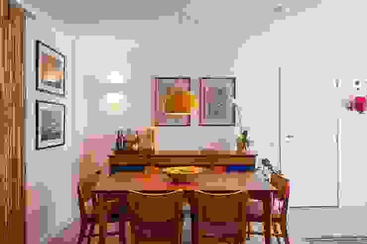 Modern dining room by Nautilo Arquitetura & Gerenciamento Modern Wood Wood effect