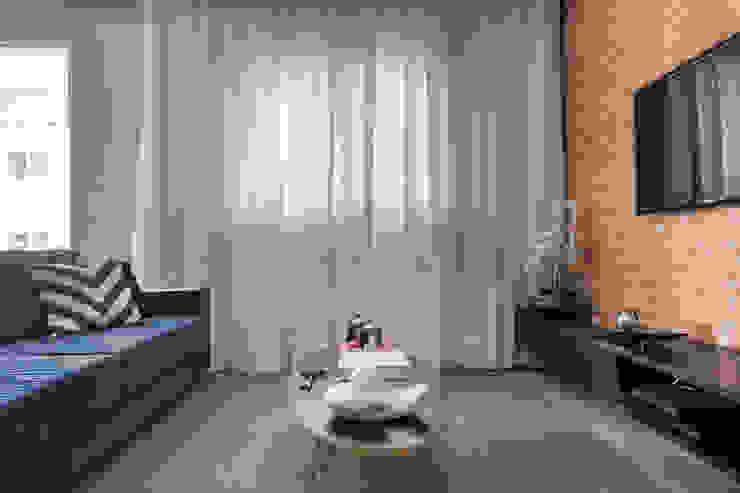 Sala de estar e tv Salas de estar modernas por Márcio Campos Arquitetura + Interiores Moderno