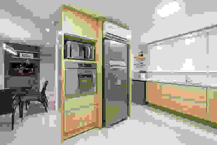 Apartamento Florianopolis Cozinhas modernas por Locus Arquitetura Moderno