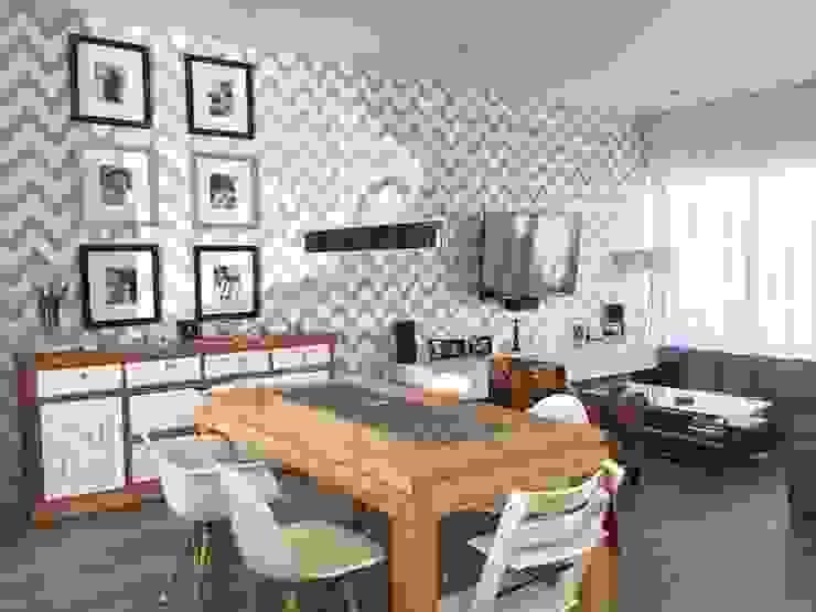 Modern dining room by Arki3d Modern
