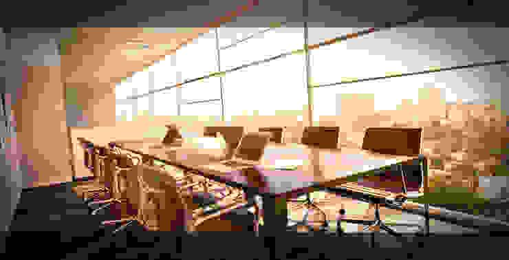 Office Luanda por Antony Simões Studio Minimalista