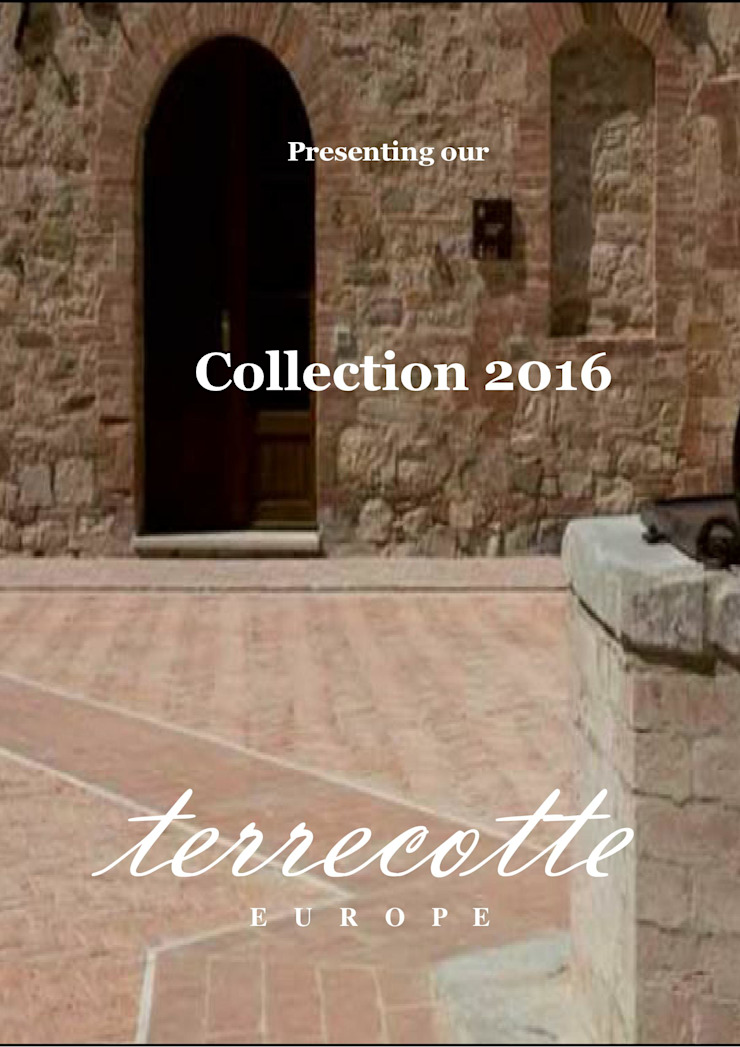 Presenting our Collection 2016 Mediterrane congrescentra van Terrecotte Europe Mediterraan Tegels