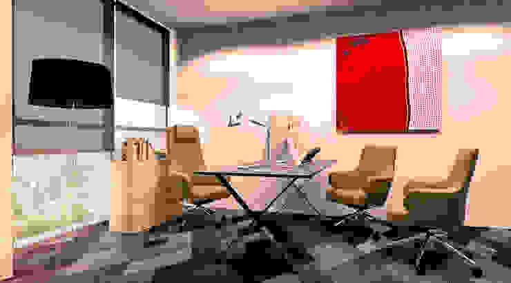 Luanda Office por Antony Simões Studio Minimalista