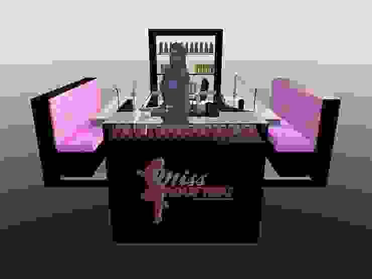 Miss Frou Frou - Beauty & Nail Care Lojas e Espaços comerciais minimalistas por Joana Neto   Interiores Minimalista