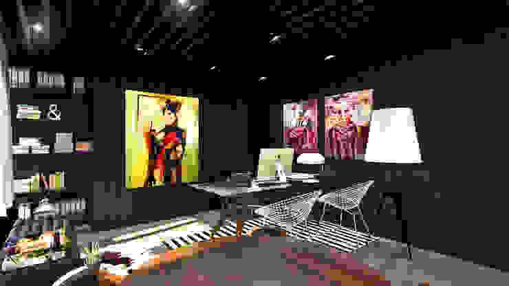 Benguela Office por Antony Simões Studio Eclético