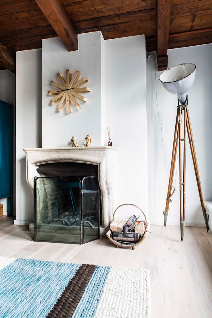 Salas de estar industriais por SMEELE Ontwerpt & Realiseert Industrial