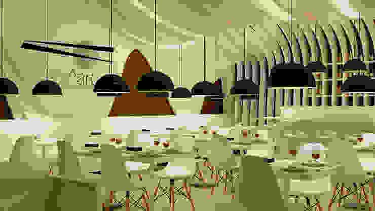 Sushi Restaurant Salas de jantar modernas por Antony Simões Studio Moderno