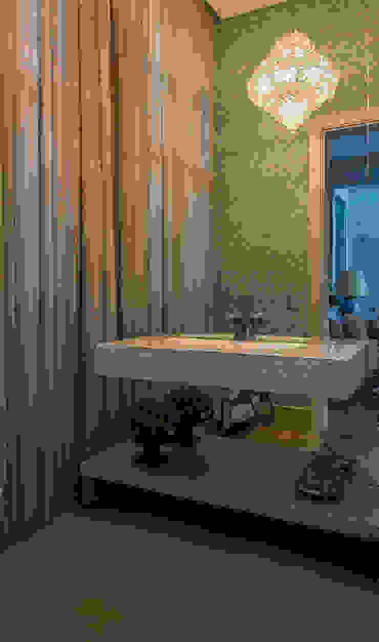 Casa Banheiros modernos por WMP Arquitetura e Ambientação Moderno