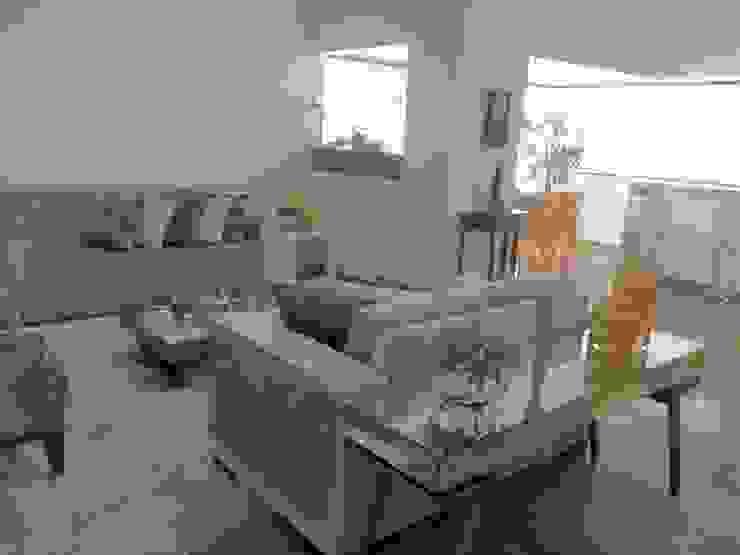 Reforma em apartamento Salas de estar modernas por Beatrice Oliveira - Tricelle Home, Decor e Design Moderno