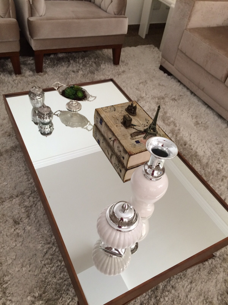 Beatrice Oliveira - Tricelle Home, Decor e Design Ruang Keluarga Modern