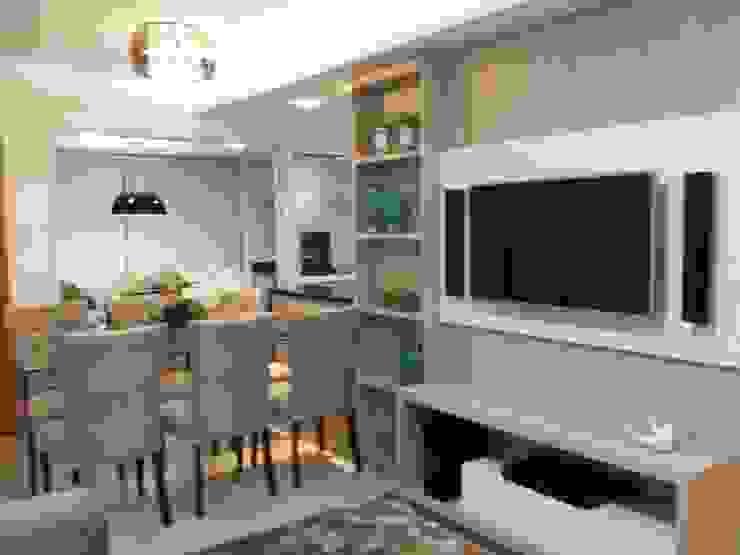 Beatrice Oliveira - Tricelle Home, Decor e Design Sala da pranzo moderna