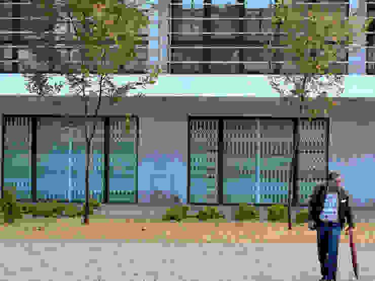 Zonas verdes em via pública Jardins ecléticos por Atelier Jardins do Sul Eclético
