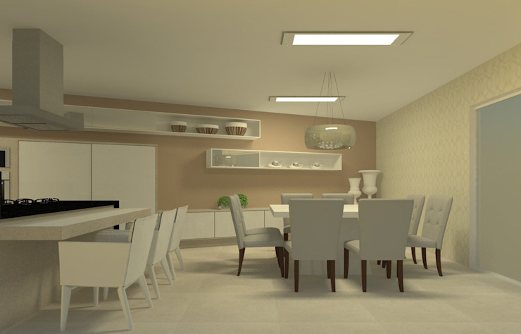 Beatrice Oliveira - Tricelle Home, Decor e Design Modern Dining Room