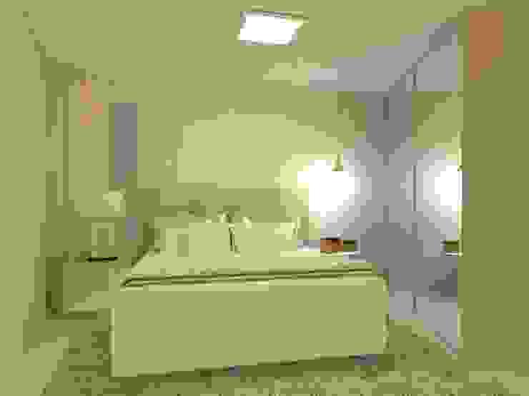 Beatrice Oliveira - Tricelle Home, Decor e Design Camera da letto moderna
