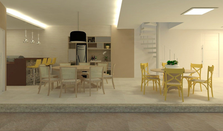 Beatrice Oliveira - Tricelle Home, Decor e Design Modern Terrace