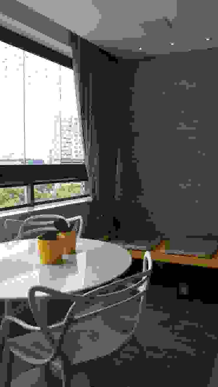 Balcon, Veranda & Terrasse modernes par arquitetura assim Moderne Bois Effet bois