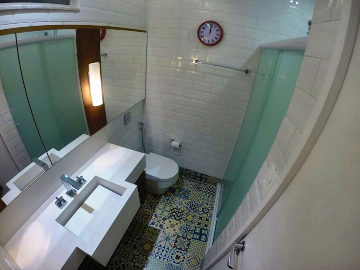 Banheiro homify Banheiros modernos