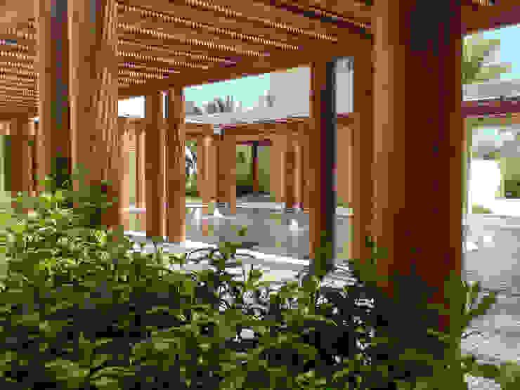 Balcon, Veranda & Terrasse modernes par José Vigil Arquitectos Moderne