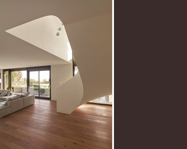 Objekt 329 / meier architekten Moderner Flur, Diele & Treppenhaus von meier architekten zürich Modern