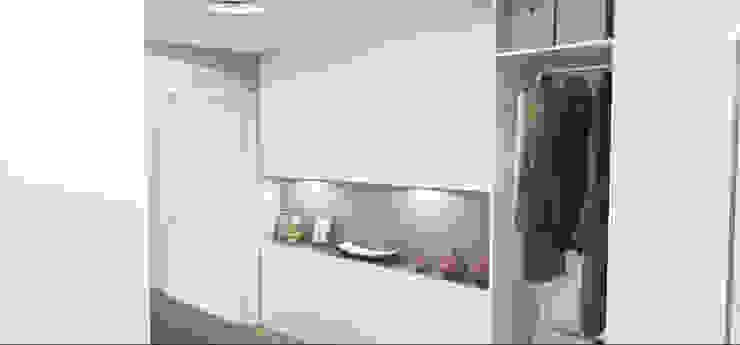 Koridor & Tangga Modern Oleh Architetto Jessica Vaghi Modern