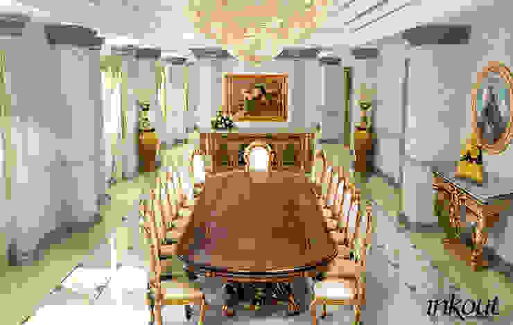 Dinning room Inkout srl Sala da pranzo in stile classico