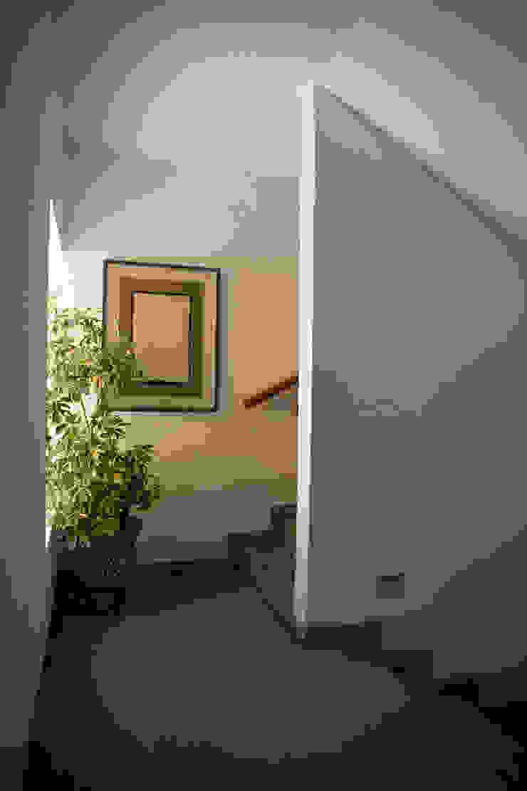 Modern Corridor, Hallway and Staircase by José Vigil Arquitectos Modern