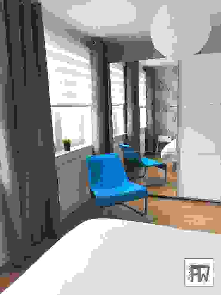 Scandinavian style bedroom by PTW Studio Scandinavian