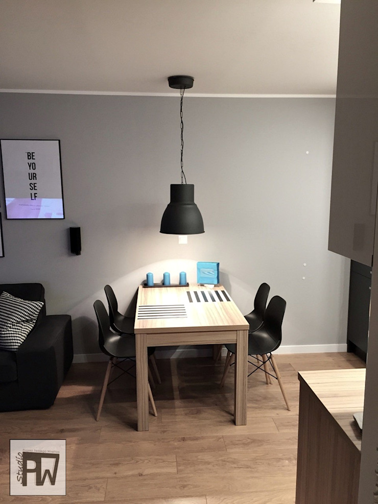 Scandinavian style dining room by PTW Studio Scandinavian