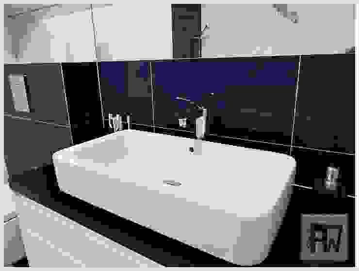 Kobaltowa dama – metamorfoza łazienki od PTW Studio