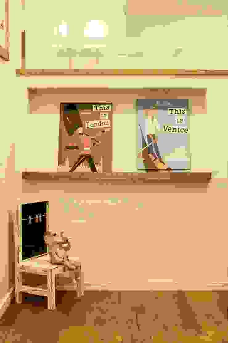 れんらくちょうポスト - 子育てをコンセプトにした住まい「育みの家」 北欧デザインの 子供部屋 の ジャストの家 北欧